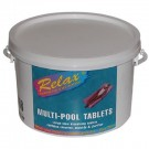 Aquafayre Relax 2kg Multi Pool Tablets