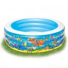 Round Sea Life Paddling Pool
