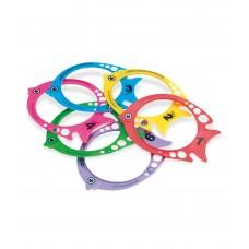 Fishy Dive Rings