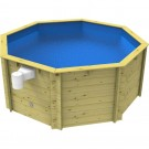 10ft Wooden Fun Pool 4ft Depth