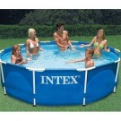 Intex Metal Frame Pool 10ft x 30 inches deep