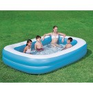 Rectangular Large Family Paddling Pool 120 x 72