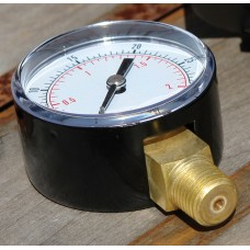 0.25 Inch Side and Base Entry Pressure Gauge