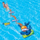 Floating Pool Bowling Game