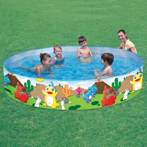 Rigid sided paddling pool 6ft for Rigid paddling pool