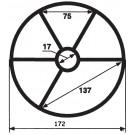 Praher Spider Gasket - 2 inch