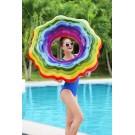 Rainbow Swirl Swim Ring