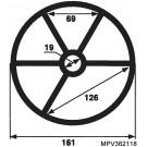Hayward MPV Spider Gasket - 2 inch