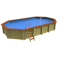 Westminster Stretched Octagonal Wooden Pool