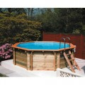 Plastica Premium Wooden Pools